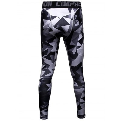 Male Triangle Camouflage Compression Long Training PantsWeight Lifting Clothes<br>Male Triangle Camouflage Compression Long Training Pants<br><br>Features: Breathable, High elasticity, Quick Dry<br>Gender: Men<br>Material: Polyester<br>Package Content: 1 x Pants<br>Package size: 30.00 x 25.00 x 2.00 cm / 11.81 x 9.84 x 0.79 inches<br>Package weight: 0.220 kg<br>Product weight: 0.160 kg<br>Size: 2XL,3XL,L,M,XL<br>Types: Pants