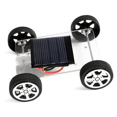 PXWG Vehicle Style Solar Energy Plastic DIY 3D Puzzle