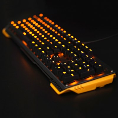 JamesDonkey 619 Mechanical Keyboard 104 Keys for GamingKeyboards<br>JamesDonkey 619 Mechanical Keyboard 104 Keys for Gaming<br><br>Anti-ghosting Number: 104<br>Brand: JamesDonkey<br>Cable Length (m): 1.8m<br>Coding Supported: Yes<br>Connection: USB2.0<br>Features: Gaming<br>Interface: Wired<br>Keyboard Lifespan ( times): 50 million<br>Keyboard Switch Brand: GATERON<br>Keyboard Type: Mechanical Keyboard<br>Material: Aluminum Alloy, ABS<br>Model: 619<br>Mouse Macro Express Supported: Yes<br>Package Contents: 1 x JamesDonkey 619 Mechanical Keyboard, 1 x USB Cable, 1 x Clip<br>Package size (L x W x H): 51.00 x 19.00 x 5.10 cm / 20.08 x 7.48 x 2.01 inches<br>Package weight: 1.4300 kg<br>Product size (L x W x H): 47.00 x 15.00 x 4.10 cm / 18.5 x 5.91 x 1.61 inches<br>Product weight: 0.9900 kg<br>Response Speed: 3ms<br>Type: Keyboard