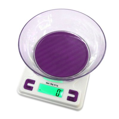 K001A 5kg 1.9 inch Electronic Kitchen Scale for Home