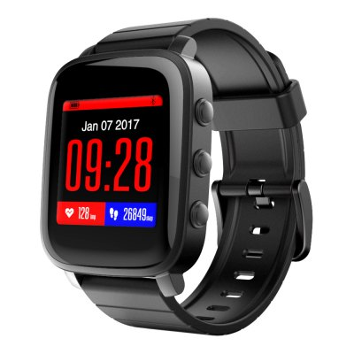 SMA - TIME Bluetooth 4.0 Smart WatchSmart Watches<br>SMA - TIME Bluetooth 4.0 Smart Watch<br><br>Brand: SMA<br>Bluetooth Version: Bluetooth 4.0<br>Waterproof: Yes<br>Bluetooth calling: Callers name display,Phone call reminder<br>Messaging: Message reminder<br>Health tracker: Heart rate monitor,Pedometer,Sedentary reminder,Sleep monitor<br>Remote control function: Remote Camera<br>Anti-lost: Yes<br>Groups of alarm: 8<br>Alert type: Vibration<br>Other Function: Alarm,Stopwatch<br>Screen: LCD<br>Operating mode: Press button<br>Type of battery: Polymer Battery<br>Battery Capacty: 180mAh<br>Standby time: 40 Days<br>People: Female table,Male table<br>Shape of the dial: Rectangle<br>Case material: Aluminium<br>Band material: TPU<br>Compatible OS: Android,IOS<br>Compatability: Android 4.4 / iOS 8.0 and Above Systems<br>Language: English,Simplified Chinese<br>Available Color: Black,Blue,Red<br>Dial size: 4.25 x 3.65 x 0.97 cm / 1.67 x 1.44 x 0.38 inches<br>Band size: 25 x 1.8 cm / 9.84 x 0.71 inches<br>Wearing diameter: 14.7 - 21 cm / 5.79 - 8.27 inches<br>Product size (L x W x H): 25.00 x 3.65 x 0.97 cm / 9.84 x 1.44 x 0.38 inches<br>Package size (L x W x H): 15.50 x 12.20 x 2.10 cm / 6.1 x 4.8 x 0.83 inches<br>Product weight: 0.0390 kg<br>Package weight: 0.1330 kg<br>Package Contents: 1 x SMA - TIME Smart Watch, 1 x Charging Cable, 1 x Chinese and English User Manual