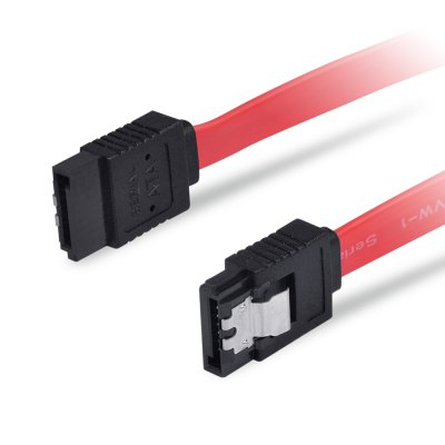KingDian SATA 3.0 Data Cable 6Gbps for Hard DriveCables &amp; Connectors<br>KingDian SATA 3.0 Data Cable 6Gbps for Hard Drive<br><br>Brand: kingDian<br>Cable Length (m): 0.3M<br>Interface: SATA 3.0<br>Package Contents: 1 x KingDian SATA 3.0 Data Cable<br>Package size (L x W x H): 22.00 x 7.00 x 2.00 cm / 8.66 x 2.76 x 0.79 inches<br>Package weight: 0.0400 kg<br>Product size (L x W x H): 30.00 x 1.00 x 0.30 cm / 11.81 x 0.39 x 0.12 inches<br>Product weight: 0.0110 kg<br>Type: Cable