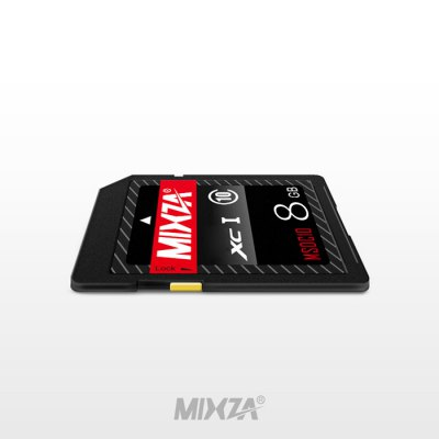 MIXZA 8GB SDXC Card for SLR CameraMemory Cards<br>MIXZA 8GB SDXC Card for SLR Camera<br><br>Brand: MIXZA<br>Class Rating: Class 10<br>Memory Capacity: 8G<br>Memory Card Type: SDXC<br>Package Contents: 1 x MIXZA 8GB SDXC Memory Card for SLR Camera<br>Package size (L x W x H): 12.50 x 8.20 x 0.20 cm / 4.92 x 3.23 x 0.08 inches<br>Package weight: 0.0180 kg<br>Product size (L x W x H): 3.00 x 2.40 x 0.20 cm / 1.18 x 0.94 x 0.08 inches<br>Product weight: 0.0020 kg<br>Support 4K Video Recording: Yes<br>Type: Memory Card<br>UHS Speed Class: UHS-1 Below