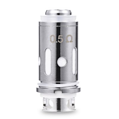 ROFVAPE 0.5 ohm Atomizer Coils for Witcher Tank ( 5pcs )Vapor Accessories<br>ROFVAPE 0.5 ohm Atomizer Coils for Witcher Tank ( 5pcs )<br><br>Brand: Rofvape<br>Material: Kanthal, Stainless Steel<br>Package Contents: 5 x ROFVAPE 0.5 ohm Atomizer Coil<br>Package size (L x W x H): 10.50 x 4.60 x 1.50 cm / 4.13 x 1.81 x 0.59 inches<br>Package weight: 0.025 kg<br>Product size (L x W x H): 1.20 x 1.20 x 2.70 cm / 0.47 x 0.47 x 1.06 inches<br>Product weight: 0.005 kg<br>Resistance : 0.5 ohm
