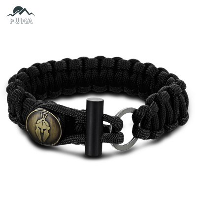FURA 3 in 1 Survival Paracord Bracket / Flintstone