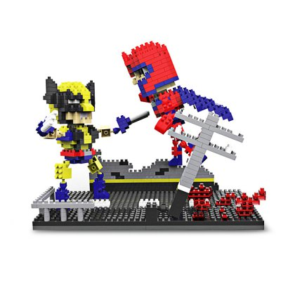 Anime Figure Style ABS Cartoon Building Brick - 675pcs