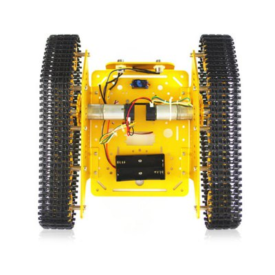 SZDoit T300 Aluminum Alloy RC Tank Chassis DIY KitOther RC Toys<br>SZDoit T300 Aluminum Alloy RC Tank Chassis DIY Kit<br><br>Brand: SZDoit<br>Package Contents: 1 x Chassis DIY Kit<br>Package size (L x W x H): 30.00 x 28.00 x 11.00 cm / 11.81 x 11.02 x 4.33 inches<br>Package weight: 1.7200 kg<br>Product size (L x W x H): 29.00 x 27.00 x 10.00 cm / 11.42 x 10.63 x 3.94 inches<br>Product weight: 1.6500 kg<br>Type: Vehicle Chassis