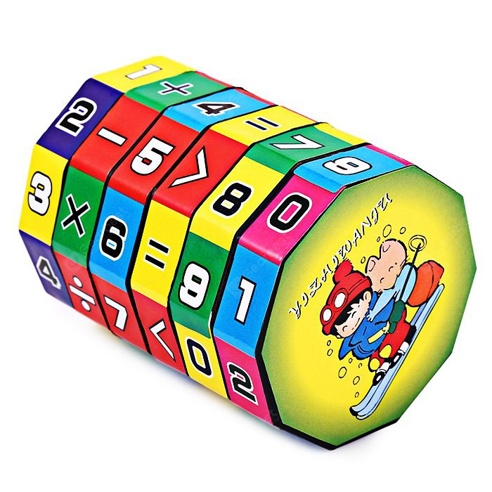 6-layer 7.2cm Height Puzzle Cube Education Learning Math Toy for Children