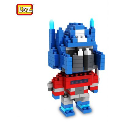 LOZ 170Pcs M - 9335 Transformer Optimus Prime Figure Building Block