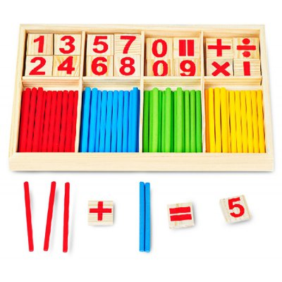 76 x Mathematical Intelligence Stick Intelligence Toy Simple Count