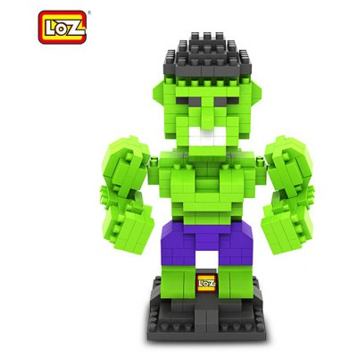 L - 9451 The Avengers Hulk Building Block Toy