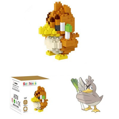 LOZ Figure Style Cartoon ABS Building Brick - 156pcsBlock Toys<br>LOZ Figure Style Cartoon ABS Building Brick - 156pcs<br><br>Brand: LOZ<br>Completeness: Semi-finished Product<br>Gender: Unisex<br>Materials: ABS<br>Package Contents: 156 x Module, 1 x Operation Instruction<br>Package size: 7.50 x 7.50 x 7.50 cm / 2.95 x 2.95 x 2.95 inches<br>Package weight: 0.0420 kg<br>Product size: 4.50 x 4.50 x 6.80 cm / 1.77 x 1.77 x 2.68 inches<br>Product weight: 0.0350 kg<br>Stem From: Japan<br>Theme: Movie and TV