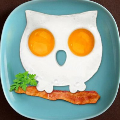 Innovative Owl Shape Silicone Egg Frying Mould Frying Pancake Mold Breakfast Mould Creative Kitchen Supplies for DIY Present от GearBest.com INT