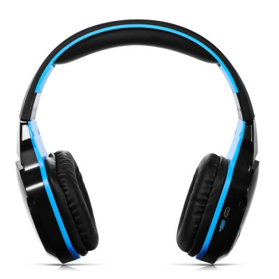 KOTION EACH B3505 Wireless Headphones for PCEarbud Headphones<br>KOTION EACH B3505 Wireless Headphones for PC<br><br>Application: Computer, Mobile phone, Portable Media Player, Sport<br>Battery Capacity(mAh): 400mAh<br>Bluetooth: Yes<br>Bluetooth distance: W/O obstacles 10m<br>Bluetooth protocol: A2DP,AVRCP,HFP,HSP<br>Bluetooth Version: V4.0<br>Brand: KOTION EACH<br>Charging Time.: 3h<br>Compatible with: Computer<br>Connecting interface: 3.5mm, Micro USB<br>Connectivity: Wired and Wireless<br>Driver unit: 50mm<br>Frequency response: 20-20000Hz<br>Function: Voice control, Answering Phone, Bluetooth, Microphone, Song Switching<br>Impedance: 16ohms±15 percent<br>Language: No<br>Material: ABS<br>Model: B3505<br>Music Time: 10h<br>Package Contents: 1 x KOTION EACH B3505 Wireless Gaming Headset, 1 x Multilanguage User Manual, 1 x USB Cable ( 60cm ), 1 x 3.5mm Jack Cable ( 117cm )<br>Package size (L x W x H): 22.00 x 22.50 x 9.00 cm / 8.66 x 8.86 x 3.54 inches<br>Package weight: 0.4700 kg<br>Plug Type: Micro USB, 3.5mm<br>Product size (L x W x H): 19.00 x 19.00 x 8.00 cm / 7.48 x 7.48 x 3.15 inches<br>Product weight: 0.2150 kg<br>Sensitivity: 106db<br>Talk time: 8h<br>Wearing type: Headband