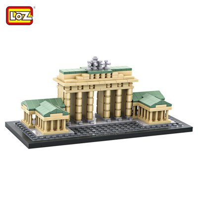 LOZ Architecture ABS Cartoon Building Brick - 362pcs