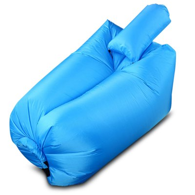 Ultralight Inflatable Lazy Sofa with Pillow Beach Chair