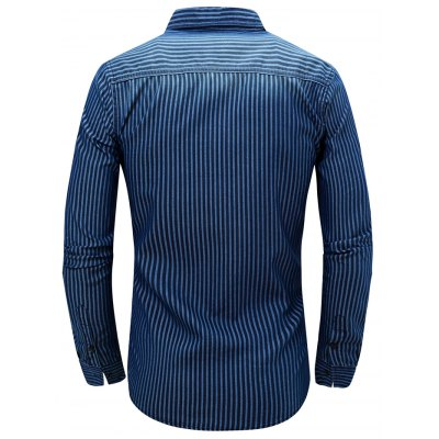 FREDD MARSHALL FM083 Male Casual Long Sleeve Shirt от GearBest.com INT