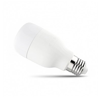 Original Xiaomi Yeelight E27 Smart LED BulbSmart Lighting<br>Original Xiaomi Yeelight E27 Smart LED Bulb<br><br>Brand: Xiaomi<br>Color Temperature: 4000K<br>Current : 0.1A<br>Features: Timing, Remote Controlled, Energy Efficient<br>Lumen: 600lm<br>Package Contents: 1 x Original Xiaomi Yeelight White LED Bulb, 1 x Chinese User Manual<br>Package Size ( L x W x H ): 13.00 x 6.50 x 6.50 cm / 5.12 x 2.56 x 2.56 inches<br>Package weight: 0.1700 kg<br>Power: 8W<br>Product Size  ( L x W x H ): 12.00 x 5.50 x 5.50 cm / 4.72 x 2.17 x 2.17 inches<br>Product weight: 0.1450 kg<br>Voltage: AC220V