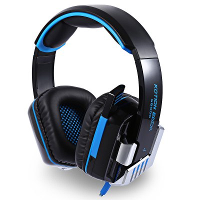 KOTION EACH G8000 Stereo Gaming HeadsetEarbud Headphones<br>KOTION EACH G8000 Stereo Gaming Headset<br><br>Application: Computer<br>Brand: KOTION EACH<br>Cable Length (m): 2.1m<br>Compatible with: Computer<br>Connectivity: Wired<br>Driver unit: 50mm<br>Frequency response: 20-20000Hz<br>Function: Voice control, Microphone<br>Impedance: 32ohms<br>Language: No<br>Material: ABS<br>Model: G8000<br>Package Contents: 1 x KOTION EACH G8000 Gaming Headset, 1 x Multilingual Manual ( English, Chinese, Japanese ... and so on )<br>Package size (L x W x H): 23.20 x 23.50 x 12.00 cm / 9.13 x 9.25 x 4.72 inches<br>Package weight: 0.7550 kg<br>Plug Type: 3.5mm, USB<br>Product weight: 0.6920 kg<br>Sensitivity: 113 dB ± 3dB<br>Wearing type: Headband