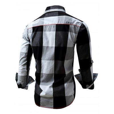 FREDD MARSHALL FM099 Male Casual Long Sleeve ShirtMens Shirts<br>FREDD MARSHALL FM099 Male Casual Long Sleeve Shirt<br><br>Brand: FREDD MARSHALL<br>Material: Cotton<br>Package Contents: 1 x FREDD MARSHALL FM099 Male Shirt<br>Package size: 28.00 x 32.00 x 2.00 cm / 11.02 x 12.6 x 0.79 inches<br>Package weight: 0.2830 kg<br>Product weight: 0.2600 kg<br>Size: L,M,XL,XXL