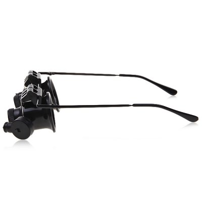 9892A 20X Binocular Magnifying Glasses Magnifier with LED Light for Watch Repair
