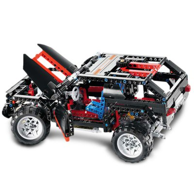 BEILEXING SUV Style ABS Building Brick - 589pcsBlock Toys<br>BEILEXING SUV Style ABS Building Brick - 589pcs<br><br>Brand: BEILEXING<br>Completeness: Semi-finished Product<br>Gender: Unisex<br>Materials: ABS<br>Package Contents: 589 x Module<br>Package size: 40.00 x 28.00 x 6.50 cm / 15.75 x 11.02 x 2.56 inches<br>Package weight: 1.2160 kg<br>Product size: 32.00 x 16.00 x 14.00 cm / 12.6 x 6.3 x 5.51 inches<br>Product weight: 0.7000 kg<br>Stem From: China<br>Theme: Vehicle