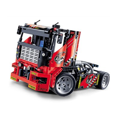 BEILEXING 2 in 1 Vehicle Style ABS Cartoon Building Brick - 608pcsBlock Toys<br>BEILEXING 2 in 1 Vehicle Style ABS Cartoon Building Brick - 608pcs<br><br>Brand: BEILEXING<br>Completeness: Semi-finished Product<br>Gender: Unisex<br>Materials: ABS<br>Package Contents: 608 x Module<br>Package size: 42.00 x 30.00 x 6.50 cm / 16.54 x 11.81 x 2.56 inches<br>Package weight: 1.0970 kg<br>Product size: 33.00 x 15.00 x 14.00 cm / 12.99 x 5.91 x 5.51 inches<br>Product weight: 0.7000 kg<br>Stem From: China<br>Theme: Other