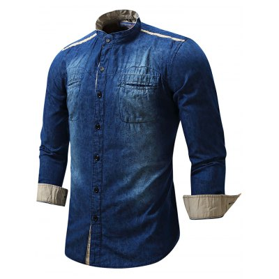 FREDD MARSHALL FM091 Men Casual Pattern Long Sleeve ShirtMens Shirts<br>FREDD MARSHALL FM091 Men Casual Pattern Long Sleeve Shirt<br><br>Brand: FREDD MARSHALL<br>Material: Cotton<br>Package Contents: 1 x FREDD MARSHALL FM091 Male Shirt<br>Package size: 42.00 x 34.00 x 2.00 cm / 16.54 x 13.39 x 0.79 inches<br>Package weight: 0.2840 kg<br>Product weight: 0.2600 kg<br>Size: L,M,XL,XXL