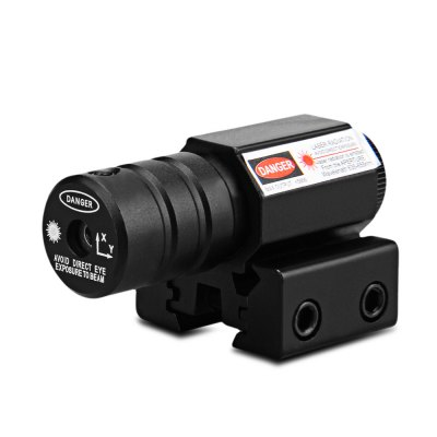 Red Laser Dot Sight Scope with Adjustable Mount