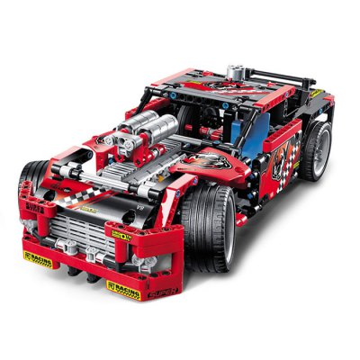 BEILEXING 2 in 1 Vehicle Style ABS Cartoon Building Brick - 608pcs