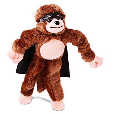 Screaming Plush Monkey Slingshot Elastic Toy