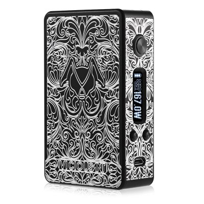 Original VICIOUSANT DNA 167W ModVV/VW Mods<br>Original VICIOUSANT DNA 167W Mod<br><br>Accessories type: MOD<br>APV Mod Wattage: 167W<br>APV Mod Wattage Range: 151-200W<br>Battery Form Factor: 18650<br>Battery Quantity: 2pcs ( not included )<br>Brand: VICIOUSNT<br>Material: Zinc Alloy<br>Mod: Temperature Control Mod,VV/VW Mod<br>Model: DNA167<br>Package Contents: 1 x VICIOUSANT DNA 167W Mod, 1 x USB Cable, 1 x English User Manual<br>Package size (L x W x H): 15.60 x 15.60 x 5.80 cm / 6.14 x 6.14 x 2.28 inches<br>Package weight: 0.4310 kg<br>Product size (L x W x H): 9.00 x 5.50 x 2.50 cm / 3.54 x 2.17 x 0.98 inches<br>Product weight: 0.1550 kg<br>Temperature Control Range: 200 - 600 Deg.F<br>Type: Electronic Cigarettes Accessories