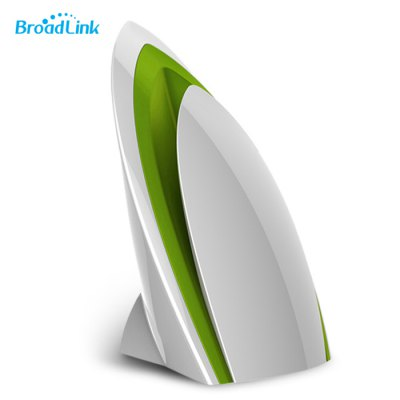Broadlink A1 e-Air Smart Home Air Detector - EU PLUG WHITE AND GREEN