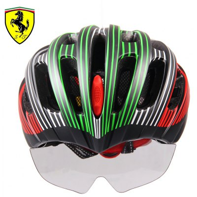 Ferrari FAH55 Sports Helmet with Goggles