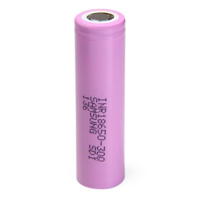 INR18650 - 30Q 3.7V 3000mAh 18650 Rechargeable Li-ion Battery