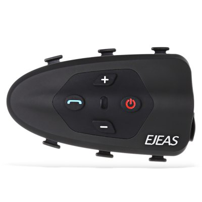 EJEAS Eagle Bicycle Helmet Bluetooth Intercom HeadsetMotorcycle Intercoms<br>EJEAS Eagle Bicycle Helmet Bluetooth Intercom Headset<br><br>Apply To Car Brand: Universal<br>Bluetooth Version: Bluetooth V3.0<br>Brand: EJEAS<br>Compatible with: Universal<br>Package Contents: 1 x EJEAS Eagle Intercom, 1 x Headset, 1 x USB Cable, 3 x Elastic, 4 x Standby Adhesive Earphone Pad, 1 x Sticker, 1 x Hook, 1 x English Operating Instruction<br>Package size (L x W x H): 16.60 x 9.20 x 7.00 cm / 6.54 x 3.62 x 2.76 inches<br>Package weight: 0.2930 kg<br>Product size (L x W x H): 8.50 x 5.00 x 2.40 cm / 3.35 x 1.97 x 0.94 inches<br>Product weight: 0.0420 kg<br>Standby time: 320 hours<br>Talk time: 12 hours<br>Working Voltage: 5V