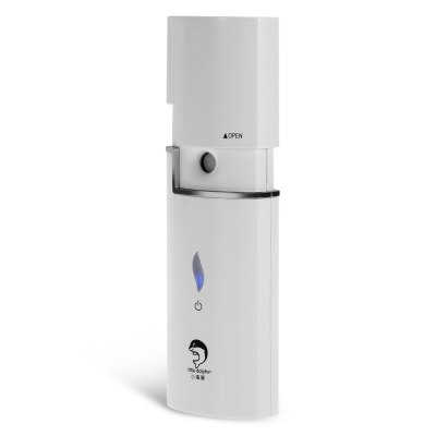little dolphin Ultrasonic Nano Mist Facial SprayerSkin Care<br>little dolphin Ultrasonic Nano Mist Facial Sprayer<br><br>Brand: little dolphin<br>Color: White<br>Package Contents: 1 x little dolphin Facial Sprayer, 1 x USB Charging Cable, 1 x English User Manual, 1 x Bottle<br>Package size (L x W x H): 20.40 x 12.30 x 5.30 cm / 8.03 x 4.84 x 2.09 inches<br>Package weight: 0.2840 kg<br>Power (W): 1.5<br>Product size (L x W x H): 12.90 x 4.40 x 2.50 cm / 5.08 x 1.73 x 0.98 inches<br>Product weight: 0.0760 kg<br>Voltage (V): DC 5