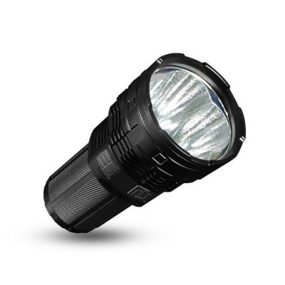 IMALENT DT70 Super Bright Rechargeable FlashlightLED Flashlights<br>IMALENT DT70 Super Bright Rechargeable Flashlight<br><br>Battery Included or Not: Yes<br>Battery Quantity: 4<br>Battery Type: 18650<br>Beam Distance: 601-700m<br>Body Material: Aerospace-grade Aluminum Alloy<br>Brand: Imalent<br>Color Temperature: 6500K<br>Emitters: Cree XHP70<br>Emitters Quantity: 4<br>Feature: Batteries<br>Flashlight size: Super<br>Flashlight Type: Tactical<br>Function: Night Riding, Self-defense, Seeking Survival, Search, Rescue, Walking, Military and Tactical, Hunting, Household Use, Hiking, Exploring, EDC, Camping<br>Impact Resistance: 1.5M<br>LED Lifespan: 50000h<br>Light color: White light<br>Light Modes: High,Location beacon,Low,Mid,SOS,Strobe,Turbo<br>Lumens Range: &gt;9000 Lumens<br>Luminous Flux: 16000<br>Luminous Intensity: 123000cd<br>Max.: 40h<br>Mode Memory: Yes<br>Model: DT70<br>Package Contents: 1 x IMALENT DT70 LED Flashlight, 4 x 3000mAh 18650 Battery, 1 x USB Cable, 1 x Holser, 2 x O-ring, 1 x English Manual<br>Package size (L x W x H): 20.00 x 15.00 x 10.00 cm / 7.87 x 5.91 x 3.94 inches<br>Package weight: 0.9180 kg<br>Power Source: Battery<br>Product size (L x W x H): 14.60 x 7.00 x 7.00 cm / 5.75 x 2.76 x 2.76 inches<br>Product weight: 0.4270 kg<br>Rechargeable: Yes<br>Reflector: Aluminum Textured Orange Peel Reflector<br>Switch Location: Side Switch<br>Waterproof Standard: IPX-8 Standard Waterproof (Underwater 2m)<br>Working Voltage: 3.7V