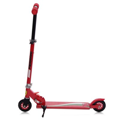 Ferrari FXA5 Folding Kids Two Wheel Kick ScooterKick Scooter<br>Ferrari FXA5 Folding Kids Two Wheel Kick Scooter<br><br>Brand: Ferrari<br>Color: Red<br>Folding Type: Folding<br>Front Wheel Size: 12 x 2.4cm<br>Handlebar Adjusting Height: 59cm, 71cm, 76cm<br>Handlebar Width: 32.5cm<br>Maximum Payload: 40kg<br>Model Number: FXA5<br>Package Content: 1 x Ferrari FXA5 Kids Kick Scooter<br>Package size: 59.00 x 12.00 x 21.00 cm / 23.23 x 4.72 x 8.27 inches<br>Package weight: 3.0000 kg<br>Product weight: 2.3000 kg<br>Rear Wheel Size: 12 x 2.4cm<br>Seat Type: without Seat<br>Suitable for: Kids<br>Type: Kids Kick Scooter<br>Wheel Number: 2 Wheel