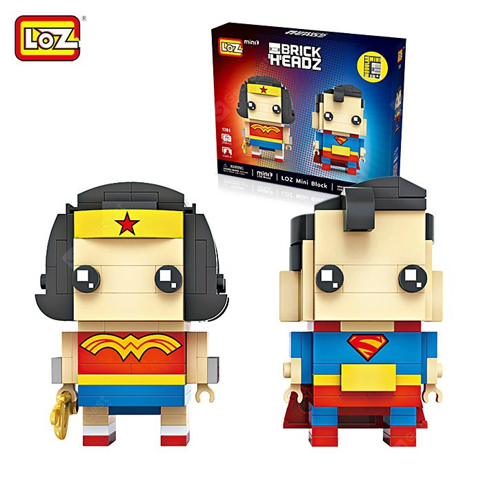 LOZ Figure Style ABS Cartoon Building Brick - 268pcs