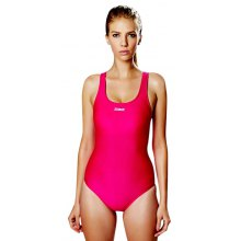 ZOKE Female Pure Color Slim Jumpsuit Swimwear