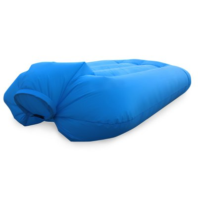 Portable 250kg Loading Nylon Fast Inflatable Bed Sofa
