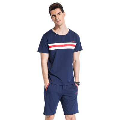 Legend Paul Male Two-piece Short Sleeves T-shirt Suit
