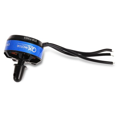 QX - MOTOR QM2804 2204 2300KV Brushless MotorMotor<br>QX - MOTOR QM2804 2204 2300KV Brushless Motor<br><br>Brand: QX-MOTOR<br>Configuration: 12N 14P<br>CW / CCW: CW<br>KV: 2300<br>Max. Continuous Current (A): 17.5A<br>Max. Continuous Power (W): 194W<br>Model: QM2804 2204<br>Motor Type: Brushless Motor<br>No. of Cells: 2 - 3S LiPo<br>Package Contents: 1 x Motor, 1 x Pack of Accessories<br>Package size (L x W x H): 9.00 x 5.60 x 4.20 cm / 3.54 x 2.2 x 1.65 inches<br>Package weight: 0.0660 kg<br>Product size (L x W x H): 2.77 x 2.77 x 3.20 cm / 1.09 x 1.09 x 1.26 inches<br>Product weight: 0.0270 kg<br>Shaft Diameter: 5mm<br>Stator Diameter: 22mm<br>Stator Length: 4.5mm<br>Type: Motor
