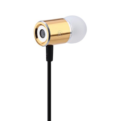 Cylindrical Shape HiFi Music In-ear Noise Cancelling Earphones