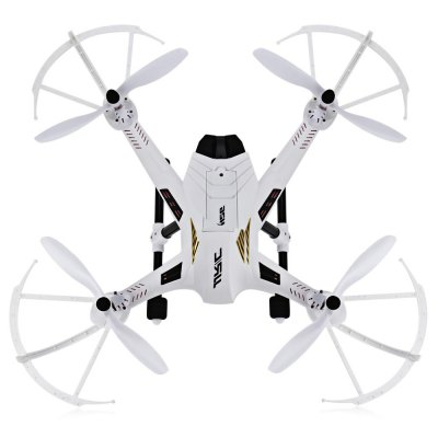 JJRC H26W WIFI FPV HD 720P CAM 2.4G 4 Channel 6 Axis Gyro RC QuadcopterRC Quadcopters<br>JJRC H26W WIFI FPV HD 720P CAM 2.4G 4 Channel 6 Axis Gyro RC Quadcopter<br><br>Age: Above 14 years old<br>Battery: 7.4V 1200mAh Li Battery<br>Brand: JJRC<br>Built-in Gyro: Yes<br>Channel: 4-Channels<br>Detailed Control Distance: About 300m<br>Features: WiFi FPV<br>Flying Time: 6~7mins<br>Functions: With light, Up/down, Turn left/right, Forward/backward, Camera, 3D rollover, FPV<br>Kit Types: RTF<br>Level: Beginner Level<br>Material: Plastic, Electronic Components<br>Mode: Mode 2 (Left Hand Throttle)<br>Model Power: Built-in rechargeable battery<br>Night Flight: Yes<br>Package Contents: 1 x RC Quadcopter, 1 x Transmitter, 1 x 720P Camera, 1 x USB Cable, 2 x Landing Gear, 4 x Protection Frame, 1 x Screwdriver, 1 x Screw Set, 1 x English User Manual, 1 x Phone Holder<br>Package size (L x W x H): 41.00 x 36.00 x 16.00 cm / 16.14 x 14.17 x 6.3 inches<br>Package weight: 1.4500 kg<br>Product size (L x W x H): 45.00 x 45.00 x 18.00 cm / 17.72 x 17.72 x 7.09 inches<br>Remote Control: 2.4GHz Wireless Remote Control<br>Transmitter Power: 4 x 1.5V AA battery(not included)<br>Type: RC Simulators, Quadcopter