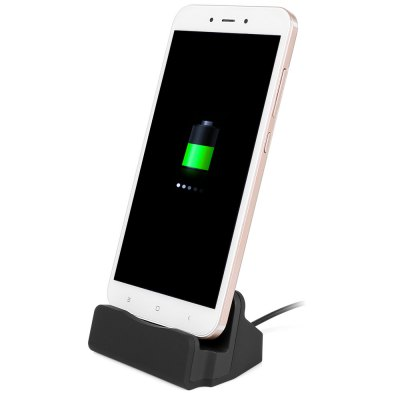 Micro USB V8 Data Transfer Bracket Charging Stand