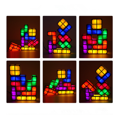 DUOQILE DIY Dimensional Magic Cube Lamp - 7pcs / setBlock Toys<br>DUOQILE DIY Dimensional Magic Cube Lamp - 7pcs / set<br><br>Brand: DUOQILE<br>Completeness: Semi-finished Product<br>Gender: Unisex<br>Materials: Electronic Components, ABS, Other<br>Package Contents: 7 x Module, 1 x US Plug Charger<br>Package size: 25.00 x 16.00 x 4.50 cm / 9.84 x 6.3 x 1.77 inches<br>Package weight: 0.3500 kg<br>Product size: 20.00 x 15.00 x 3.00 cm / 7.87 x 5.91 x 1.18 inches<br>Product weight: 0.3000 kg<br>Stem From: China<br>Theme: Other
