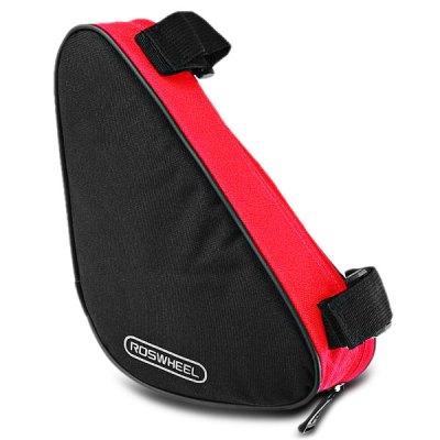 Roswheel 12657 1.5L Outdoor Triangle Cycling Bicycle Front Tube Frame BagBike Bags<br>Roswheel 12657 1.5L Outdoor Triangle Cycling Bicycle Front Tube Frame Bag<br><br>Brand: Roswheel<br>Color: Black,Blue,Green,Red<br>Emplacement: Front Tube<br>For: Unisex<br>Material: Polyester<br>Model Number: 12657<br>Package Contents: 1 x Roswheel 12657 Bicycle Front Tube Triangle Bag<br>Package Dimension: 28.00 x 7.00 x 13.00 cm / 11.02 x 2.76 x 5.12 inches<br>Package weight: 0.122 kg<br>Product Dimension: 27.00 x 6.00 x 12.00 cm / 10.63 x 2.36 x 4.72 inches<br>Product weight: 0.097 kg<br>Suitable for: Road Bike, Mountain Bicycle
