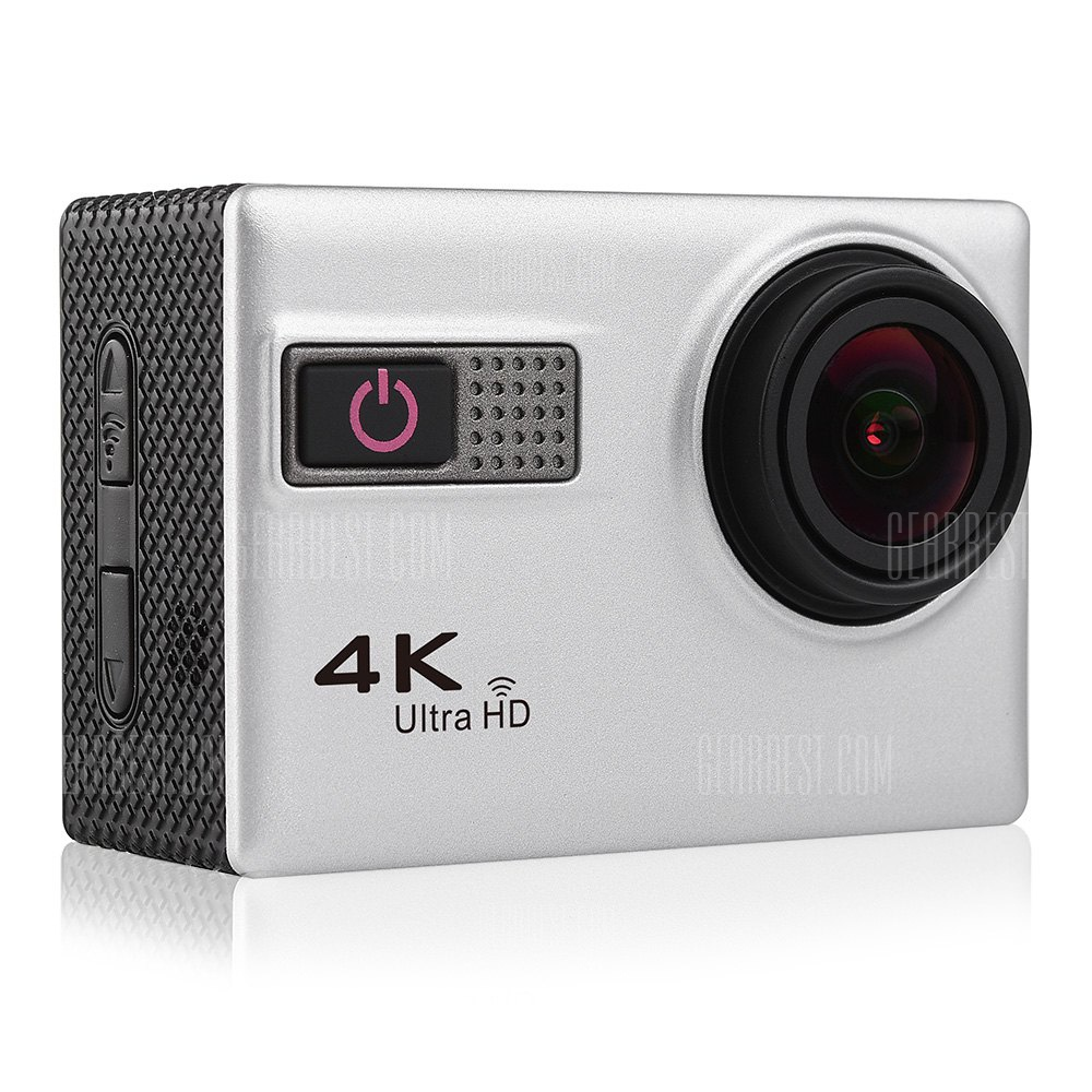 F68 4K WiFi Action Camera 170 Degree FOV